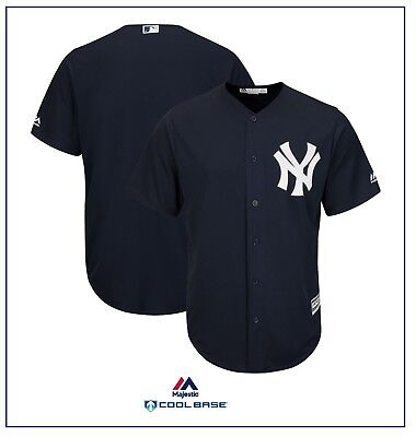 New York Yankees Cool Base® Alt Home Jersey by Majestic MEDIUM Size BNWT