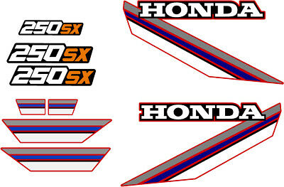 HONDA 250sx DECAL GRAPHIC SET 1985 85