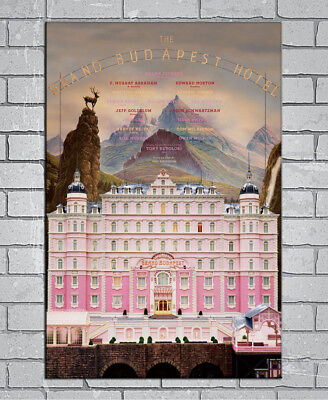 ZA1072 The Grand Budapest Hotel Classic Movie Poster Hot 40x27 36x24 18inch