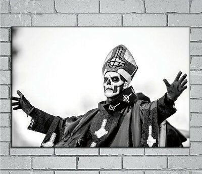 E887 Art Ghost BC Rock Band Music Star Heavy Metal Mask 18 24x36inch Poster Gift