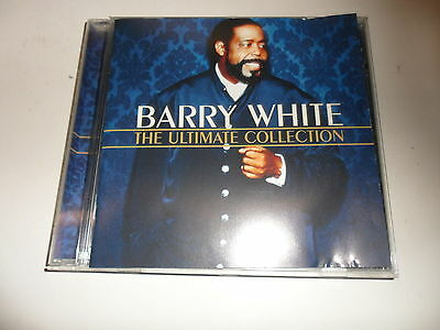 Cd   Barry White  – The Ultimate Collection