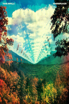 """Tame Impala Psychedelic Rock Music Ablum 14x21 24x36"""" Poster Fabric Art Z-18"""