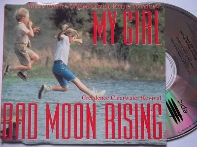 CREEDENCE CLEARWATER REVIVAL Bad Moon Rising EP CD