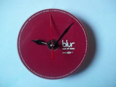 BLUR Out Of Time CD Clock