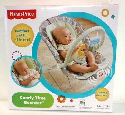 Fisher-Price BMM96   Baby Bouncer - Comfy Time Bouncer 6306 *