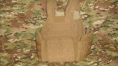 Eagle Industries Scalable Plate Carrier Large, Coyote, used