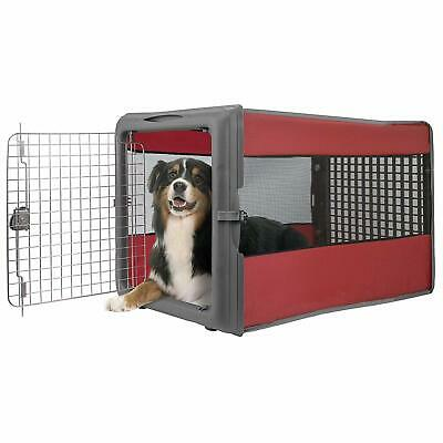 LG Popup Travel Dog Cat Pet Crate Kennel Portable Collapsible Folding Carrier