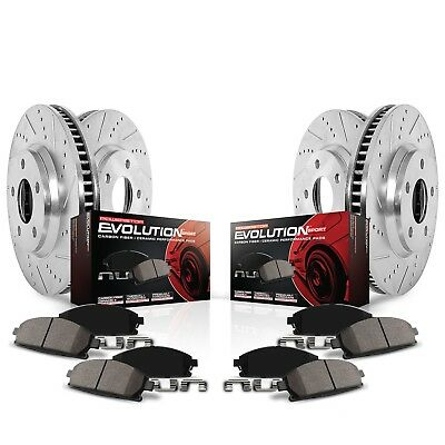 Power Stop K5369 Z23 Evolution Sport Performance 1-Click Brake Kit