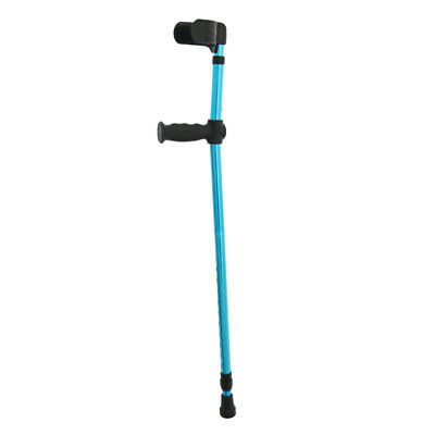 Blesiya Adults Adjustable Foldable Walking Forearm Crutches Stick 32-45 in