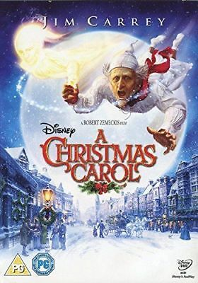 Disney - A Christmas Carol - Jim Carrey - Brand New Sealed - Uk Release