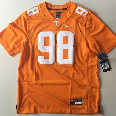 9e912992ca21 Nike Men s Tennessee Vols Orange Home Football Jersey  98 Stitched  135  Size M