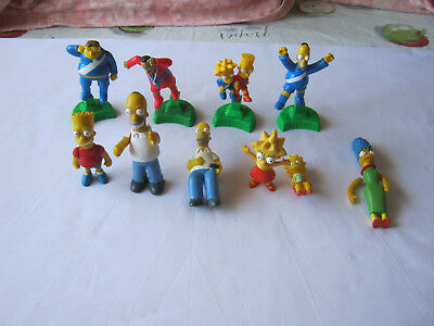 The Simpsons figures bulk lot
