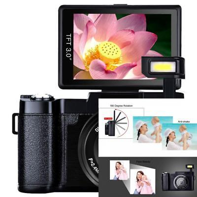 Digital Camera Vlogging Camera Full HD1080p 24.0MP Camcorder... NO SALES TAX NEW