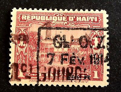 top very old stamp Haïti Michel No. 160