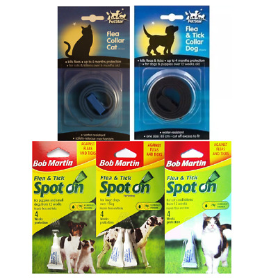 Bob Martin Flea and Tick Spot-On Repel for Cat or Dog Flea Treatment Bulk Buy UK