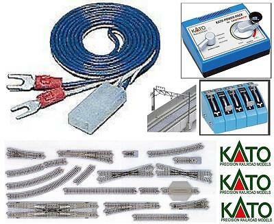 KATO 24-843 EXTENSION CABLE Cm.90 for POWER SUPPLY with PIN e N.2 TERMINALS
