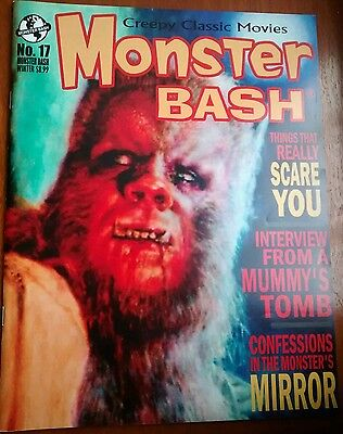 MONSTER BASH MAGAZINE #17 Monsters Mirror EX CONDITION AS NEW