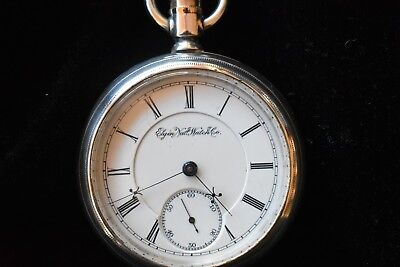 18s Elgin B.W. Raymond Railroad Grade Pocket Watch