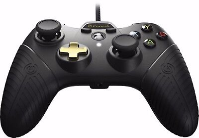 Power A Fusion Wired Controller for Xbox One Game Pad - Black & Gold 1428680-01