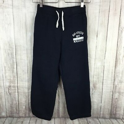 Gap Kids Sweatpants Size M Boys Or Girls Navy Blue Sweats With Pockets