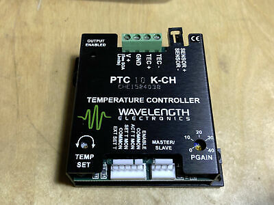 10A Temperature Controller Wavelength Electronics PTC10K-CH NEW TEC Laser Diode