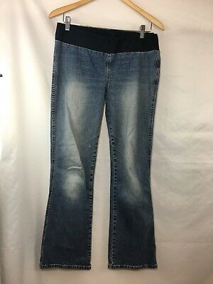 Motherhood Maternity Womens Med. Wash Jeans Size Small