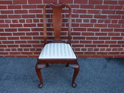 Henkel Harris Solid Cherry Queen Anne Style Dining Side Chair #2