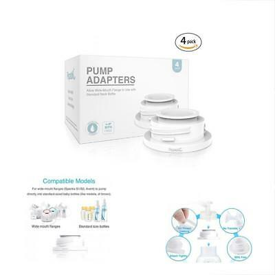 Breast Pump Accessories Leak-proof Bottle Adapter For Spectra S1 S2 Flanges To