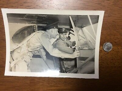 WWII US Army Air Corp AAF AAC Plane Flight Training Photo Photograph