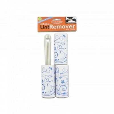 Adhesive Lint Removal Roller with 2 Refill Rolls Dandruff and Pet Hair Remover