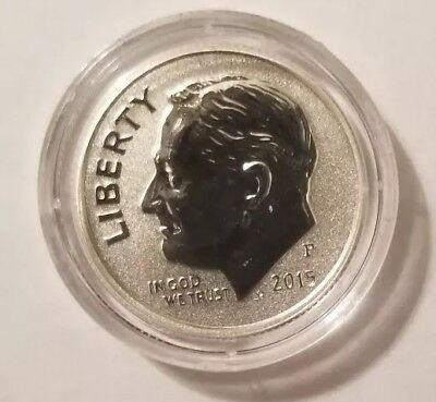 2015 P Silver Reverse Proof March of Dimes Commemorative Roosevelt Dime
