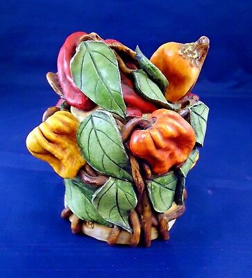Retired Lord Byron's Harmony Garden ~HOT PEPPERS ~Trinket Box -o3