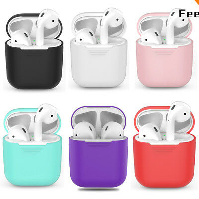 Protective Silicone Case Shockproof Box Cover Case For Apple AirPods Earphone