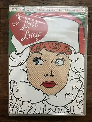 """""""THE I LOVE LUCY CHRISTMAS SPECIAL"""" (Colorized) DVD, NEW! SEALED. """""""