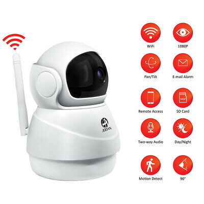 JOOAN 720P Full HD WiFi Wireless P2P IP CCTV PTZ Security Camera Baby Monitor