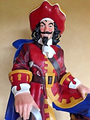 """Captain Morgan Statue, Advertising Display Diageo Spiced Rum 49"""" Tall, Excellent"""