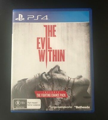The Evil Within- Play Station 4 (PS4) Very Good Condition