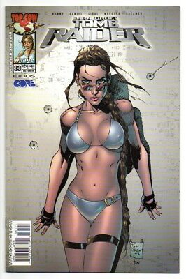 TOMB RAIDER #33 NM 9.4 Tony Daniel Bikini variant cover HOT