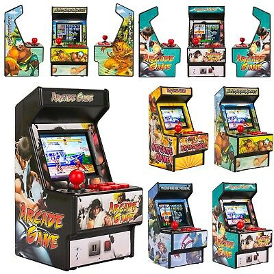 Rechargeable 16Bit Mini Retro Arcade Classic Game Console Built in 156 Games