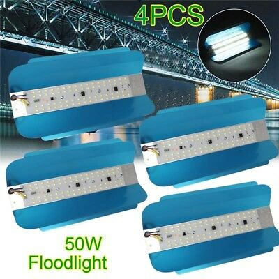 4X 50W LED Flood Light High Bay Waterproof Iodine-Tungsten Outdoor Lamp 160-240V