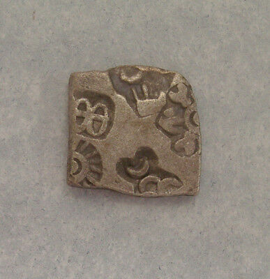 INDIA, MAURYAN EMPIRE, Silver Karshapana, c. 4th - 2nd Century BCE, Punch Marks