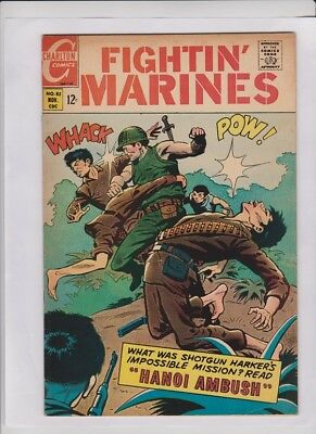 FIGHTIN' MARINES #82 F/VF, Viet Nam War cover, Charlton, solid low cost copy