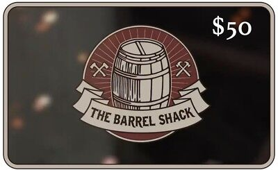 The Barrel Shack $50 Gift Card
