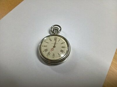 Very Rare Prototype 16s Manhattan Watch Co Time Only Skeletonised Pocket Watch