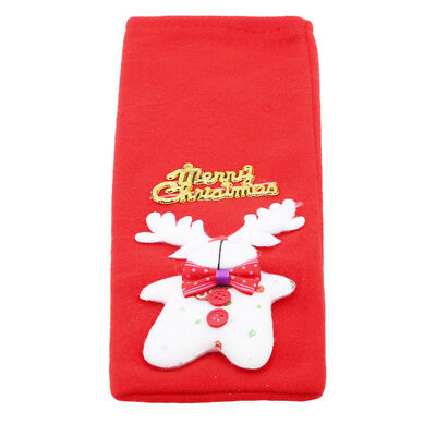 Merry Christmas Santa Wine Bottle Cover Bag Xmas Dinner Party Table Decor YI