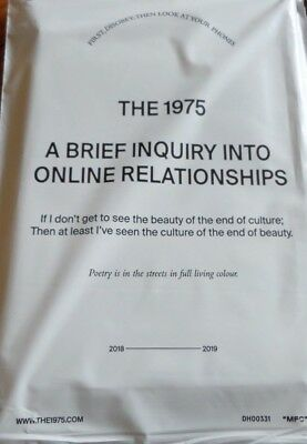 The 1975 - The 1975 Care Pack Brief Enquiry Into Online Relationships 2018
