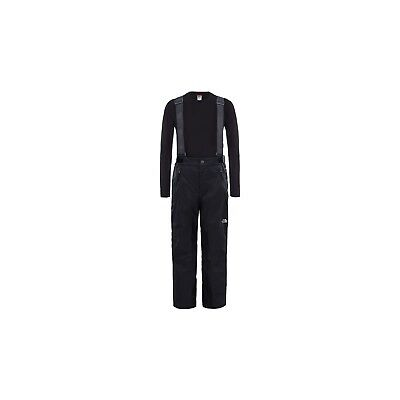 Skiing Trousers The North Face Snowquest Suspender More Black