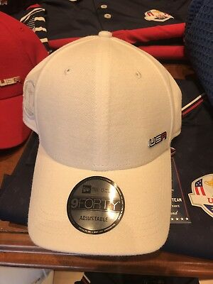 1f5a2ffe07e NEW 2018 New Era Captain 9Forty USA Ryder Cup Practice Rounds Adjustable Hat  Cap
