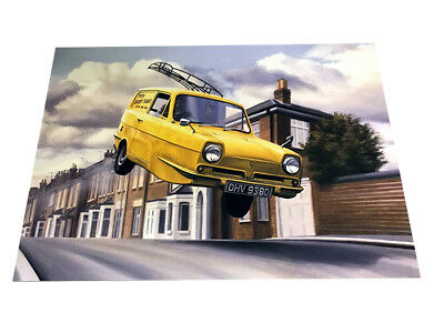 Only Fools and Horses The Trotter Van – Beautiful Colour Art Poster A3