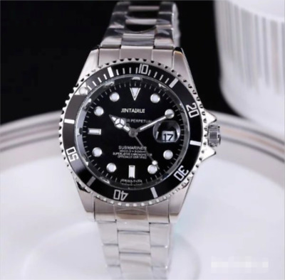 New Business Men Automatic Mechanical Stainless Steel Calendar Military Watch